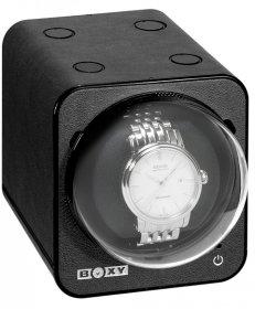 ボクシーデザイン ファンシーブリック ウォッチワインダー FBWF-LBK アダプター付 BOXY Design FANCY BRICK※時計は含まれません