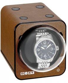 ボクシーデザイン ファンシーブリック ウォッチワインダー FBWF-LBR アダプター付 BOXY Design FANCY BRICK※時計は含まれません