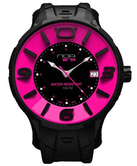 ワケあり アウトレット ノア イリス ブラック IRBP003 腕時計 メンズ NOA IRIS BLACK ※入荷時期によってストラップはラバーまたはレザーとなりま…