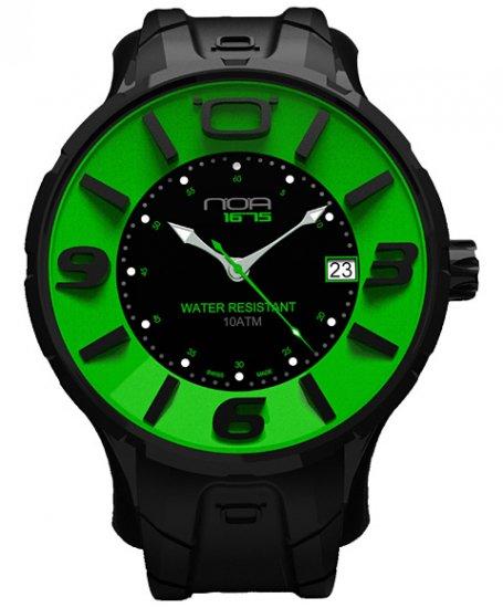 ワケあり アウトレット ノア イリス ブラック IRBP004 腕時計 メンズ NOA IRIS BLACK ※入荷時期によってストラップはラバーまたはレザーとなりま…