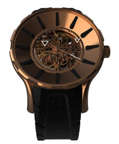 ワケあり アウトレット ノア スケル GPSKL001 自動巻き 腕時計 メンズ NOA SKELL ※入荷時期によってストラップはラバーまたはレザーとなりま…