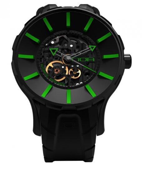 ワケあり アウトレット ノア スケル SKL007 自動巻き 腕時計 メンズ NOA SKELL ※入荷時期によってストラップはラバーまたはレザーとなりま…