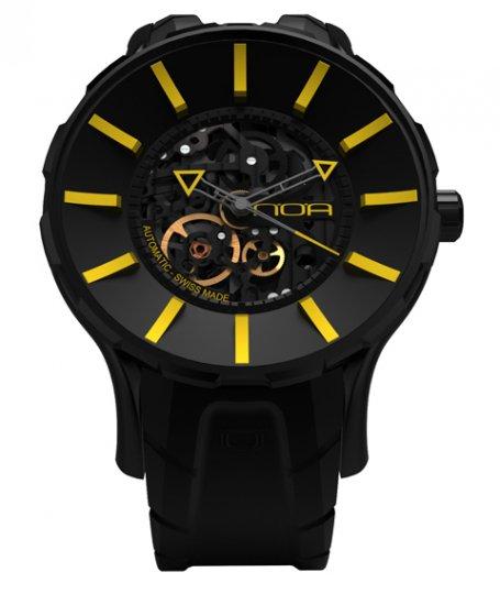 ワケあり アウトレット ノア スケル SKL008 自動巻き 腕時計 メンズ NOA SKELL ※入荷時期によってストラップはラバーまたはレザーとなりま…