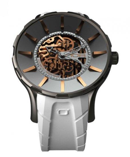 ワケあり アウトレット ノア 16.75 SKL010 自動巻き 腕時計 メンズ NOA IRIS BLACK ※入荷時期によってストラップはラバーまたはレザーとなりま…