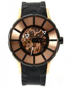 ワケあり アウトレット 73%OFF!  ノア 16.75 SKLTT002 自動巻き 腕時計 メンズ NOA 自動巻 スケルトン ゴールド ※入荷時期によってストラップはラバー