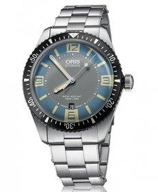 オリス ダイバーズ65 73377074065M 腕時計 ブルーダイヤル メンズ 自動巻 オリス Oris 733 7707 4065M アウトレット