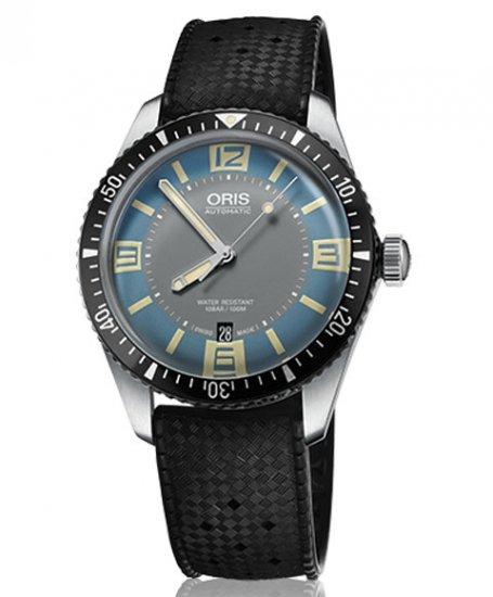 オリス ダイバーズ65 733 7707 4065R 腕時計 ブルーダイヤル メンズ 自動巻 Oris Divers Sixty-Five