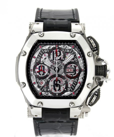 アクアノウティック キング トノー クロノグラフ シービュー TNSVSKN00J02 ブラックベルト 腕時計 AQUANAUTIC KING TONNEAU