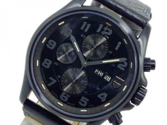ルミノックス 自動巻 クロノグラフ 腕時計 1861BO ブラック LUMINOX