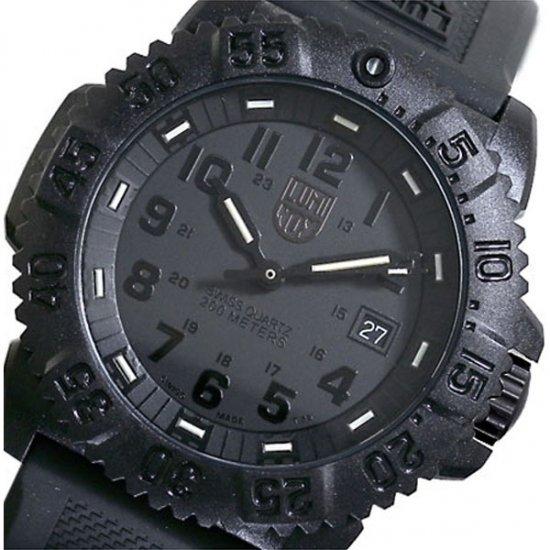 ルミノックス  ネイビーシールズ 腕時計 3051 BLACKOUT LUMINOX