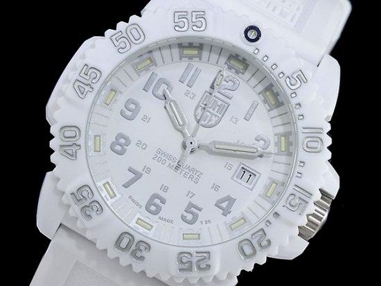 ルミノックス  ネイビーシールズ ホワイトアウト 3057 WHITEOUT3057-whiteout LUMINOX