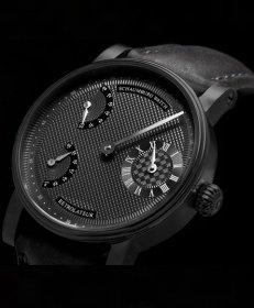 シャウボーグ レトロレーター16ブラックエディション RETROLATEUR16-BK 手巻き 腕時計 メンズ SCHAUMBURG BLACK EDITION