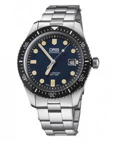 オリス ダイバーズ65 73377204055M  腕時計 メンズ 自動巻 Oris Divers Sixty-Five 733 7720 4055M メタルブレス