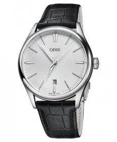 オリス アートリエ デイト 73377214051D 腕時計 メンズ ORIS Artelier Date 733 7721 4051D レザーストラップ アウトレット