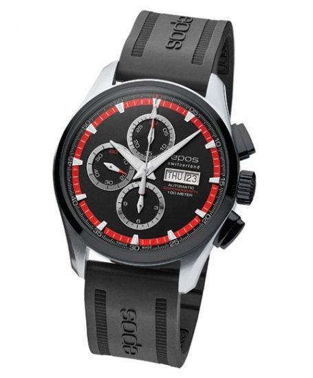エポス スポーティブ 3433SBKBKRDR 腕時計 メンズ epos SPORTIVE