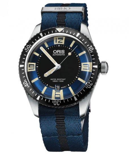 オリス ダイバーズ65 733 7707 4035DBL (NATOストラップ/ブルー) メンズ 腕時計 自動巻 Oris Divers Sixty Fi…
