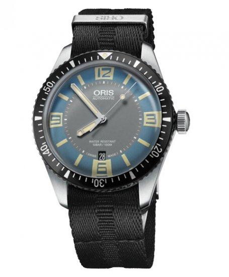 オリス ダイバーズ65 733 7707 4065DBK (NATOストラップ/ブラック) メンズ 腕時計 自動巻 Oris Divers Sixty Fi…