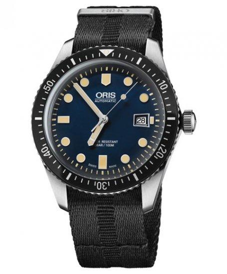 オリス ダイバーズ65 733 7720 4055D (NATOストラップ/ブラック) メンズ 腕時計 自動巻 Oris Divers Sixty Fi…