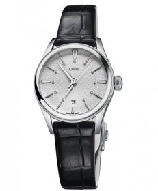 オリス アートリエ デイト ダイヤモンド 56177224051D レディース 腕時計 自動巻き ORIS Artelier Date Diamonds 561 7722 4051D