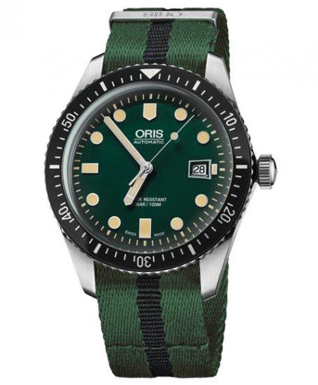 オリス ダイバーズ65 733 7720 4057DGR (NATOストラップ/グリーン) メンズ 腕時計 自動巻 Oris Divers Sixty Fi…