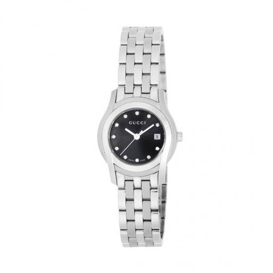 グッチ GUCCI Gクラス クオーツ レディース 腕時計 YA055534 ブラック