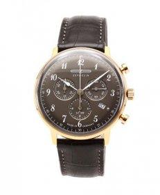 ツェッペリン ヒンデンブルク 7084-2 クロノグラフ 腕時計 メンズ ZEPPELIN Hindenburg LZ129
