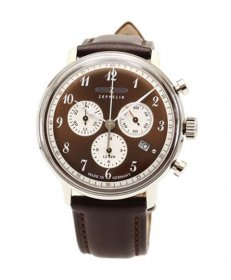 ツェッペリン ヒンデンブルク 7086-5 クロノグラフ 腕時計 メンズ ZEPPELIN Hindenburg