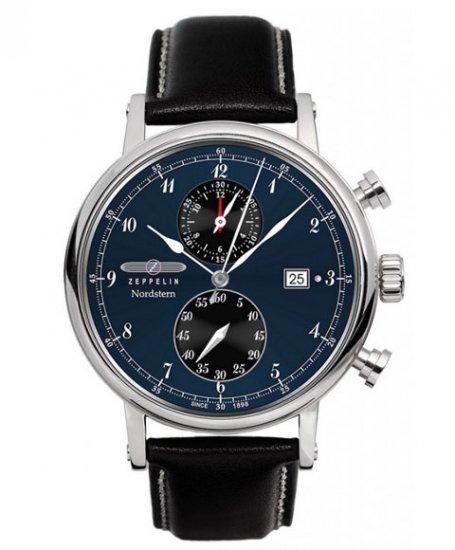 ツェッペリン ノルドスタン クロノグラフ 7578-3 腕時計 メンズ ZEPPELIN NORDSTERN