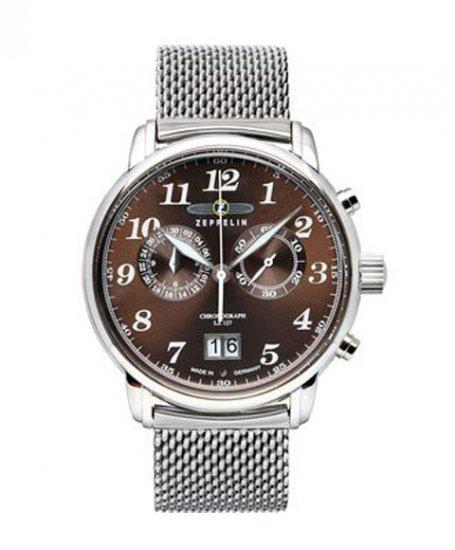 ツェッペリン 7684M-3 クロノグラフ 腕時計 メンズ ZEPPELIN