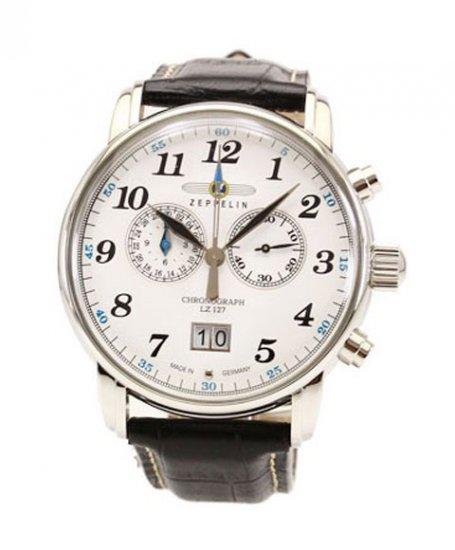ツェッペリン 7686-1 クロノグラフ 腕時計 メンズ ZEPPELIN