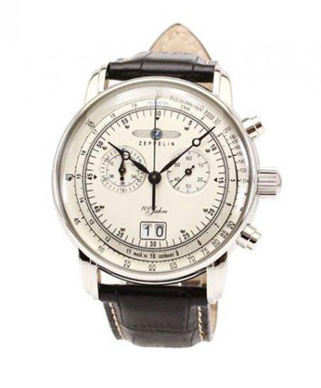 ツェッペリン 7690-1 クロノグラフ 腕時計 メンズ ZEPPELIN