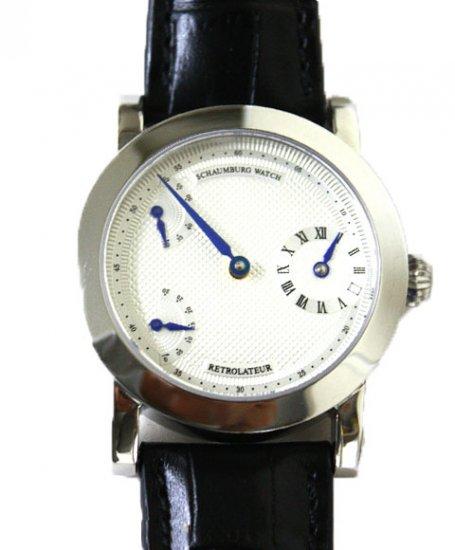 シャウボーグ RETROLATEUR 腕時計 メンズ 機械式時計 手巻き レトロレーター SCHAUMBURG watch