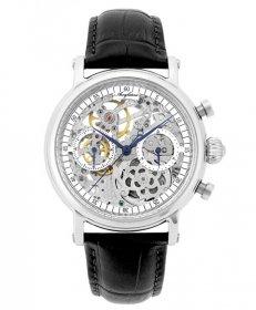 アルカフトゥーラ クロノ スケルトン CW3002BK 手巻 腕時計 メンズ ARCAFUTURA