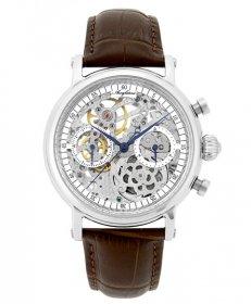 アルカフトゥーラ クロノ スケルトン CW3002BR 手巻 腕時計 メンズ ARCAFUTURA