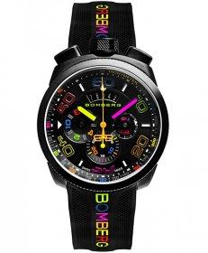 特価品 73%OFF! ボンバーグ BOLT-68 クロマ ネオン BS45CHPBA.049.3 クォーツ クロノグラフ 腕時計 メンズ BOMBERG CHROMA NEON