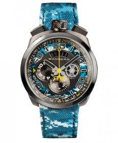 特価品 半額 ボンバーグ BOLT-68 カモフラージュ リミテッドエディション BS45CHPGM.035.3 クォーツ クロノグラフ 腕時計 メンズ BOMBERG