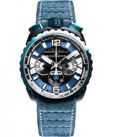 特価品 55%OFF! ボンバーグ BOLT-68 ガン&スカイブルー BS45CHPBLGM.050-3.3 クォーツ クロノグラフ 腕時計 メンズ BOMBERG GUN&SKY BLUE
