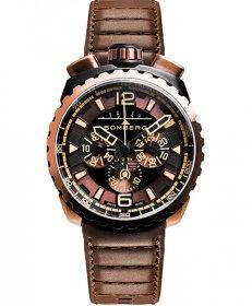 特価品 半額 ボンバーグ BOLT-68 BS45CHPBRBA.050-2.3 クォーツ クロノグラフ 腕時計 メンズ BOMBERG