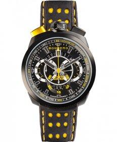 特価品 55%OFF! ボンバーグ BOLT-68 BS45CHPBA.015.3 クォーツ クロノグラフ 腕時計 メンズ BOMBERG