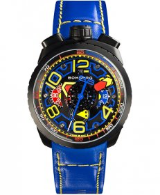 特価品 半額 ボンバーグ BOLT-68 BS47CHAPBA.041-3.3 自動巻 クロノグラフ 腕時計 メンズ BOMBERG