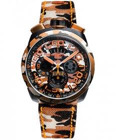 特価品 55%OFF! ボンバーグ BOLT-68 カモフラージュ サハラ リミテッドエディション BS45CHPCA.047.3 クォーツ クロノグラフ 腕時計 メンズ BOMBERG