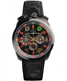 特価品 55%OFF! ボンバーグ BOLT-68 ギャンブラー ベガス リミテッドエディション BS45CHPBA.034.3 クォーツ クロノグラフ 腕時計 メンズ BOMBERG