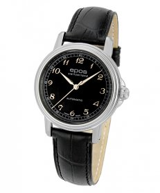 特価品 半額 エポス クラシックコレクション イボケーション 3336ABK 腕時計 メンズ 自動巻 epos