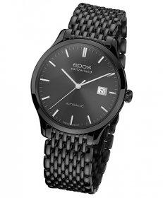 特価品 半額 エポス オリジナーレ デイト ブラック 3420BKGYSLM 腕時計 メンズ 自動巻 epos