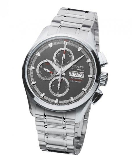 エポス スポーティブ クロノグラフ 3433GYM 腕時計 メンズ 自動巻 epos