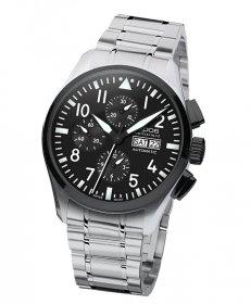 海外取り寄せ(納期:お問合せください) エポス スポーティブ パイロット クロノグラフ 3433SBKABKM 腕時計 メンズ 自動巻 epos