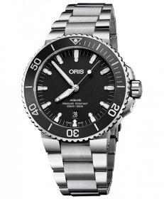 オリス アクイス デイト 73377304154M 腕時計 メンズ ORIS Aquis Date 733 7730 4154M ダイバーズ メタルブレス