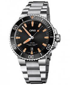 特価 55%OFF! オリス アクイス デイト 73377304159M 腕時計 メンズ ORIS Aquis Date 733 7730 4159M ダイバーズ メタルブレス