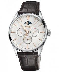 オリス アートリエ コンプリケーション 78177294031D 腕時計 メンズ ORIS Artelier Complication 781 7729 4031D レザーストラップ