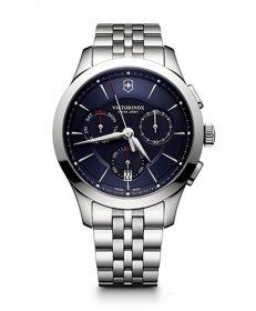 ビクトリノックススイスアーミー ALLIANCE CHRONOGRAPH アライアンス クロノグラフ ブレス ブルー 241746 腕時計 メンズ VICTORINOX SWISSARMY